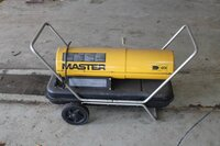 Image 0 of 1 warme lucht kanon op mazout master b 150 ced, bo...