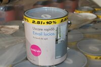 Image 0 of 140 emmers muurverf colours email lucios, kleur: g...