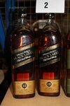 Image 1 of 3 diverse flessen whisky johnnie walker, waaronder...