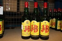 Image 0 of 3 flessen whisky j&b,