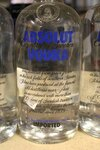 Image 1 of 4 diverse flessen wodka absolut,