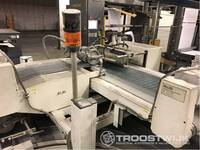Image 3 of 4-laags 90° transportband na de snijmachines