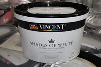 Image 0 of 41 (circa) potten muurverf vincent shades of white...