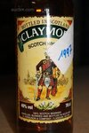 Image 1 of 7 diverse flessen whisky, waaronder jim bean, clay...