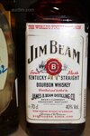 Image 2 of 7 diverse flessen whisky, waaronder jim bean, clay...