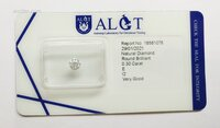 Image 1 of Certified diamond: 0.30ct - 1pcs
