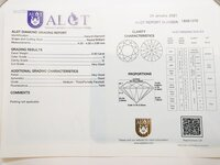 Image 4 of Certified diamond: 0.30ct - 1pcs