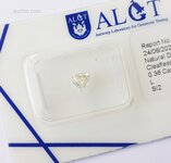Image 0 of Certified diamond: 0.36ct - 1pcs