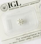 Image 0 of Certified diamond: 1.01ct - 1pcs
