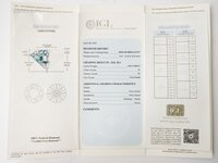 Image 4 of Certified diamond: 1.01ct - 1pcs