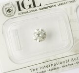 Image 0 of Certified diamond: 1.03ct - 1pcs