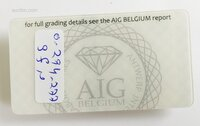 Image 2 of Certified diamond: 1.36ct - 1pcs
