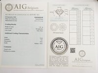 Image 4 of Certified diamond: 1.36ct - 1pcs