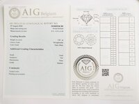 Image 4 of Certified diamond: 2.85ct - 1pcs