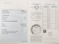 Image 4 of Certified diamond: 2.96ct - 74pcs