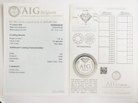 Image 4 of Certified diamond: 3.38ct - 1pcs