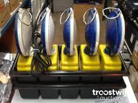 Image 4 of Kit 5 lampes proflash avec chargeur