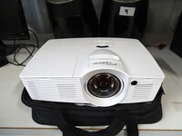 Image 0 of Optoma projector + projectiescherm